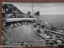 CAPRI CANZONE DEL MARE 1959 Isola da foto Vecchia fotografia di Napoli cartolina