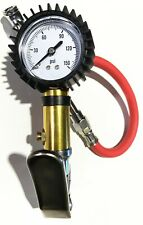 Commercial Truck Trailer High Tire Pressure Gauge w/ Deflator for Yokohama Tires