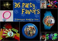 Zootopia- 36 Party Favors Combo-Toys Birthday Prizes Pinata Filler Supplies Zoo