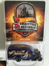 2017 Hot Wheels 17th Nationals Pittsburgh Pa BLOWN DELIVERY super nice