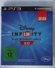 Disney Infinity 2.0 Spiel Software CD Blu-Ray für Playstation 3 (PS3) USK 12