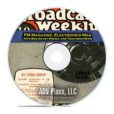 FM Magazine, Television News. 504 Old Time Radio OTR Magazines PDF DVD E57