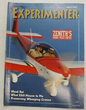 Experimenter Magazine Zenith's Sport Pilot Entry August 2002 051115R