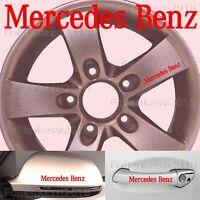 Mercedes Benz  6 Aufkleber Türgriff Felge etc. 100 x 13 mm ---21 Farben---