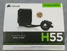 Corsair CPU Cooler CW-9060010-WW Hydro Series H55 Quiet NIB Intel AMD