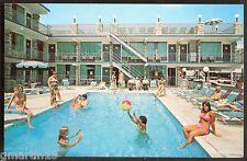 New Jersey, Wildwood - Quarter Deck Motel - Pool Scene