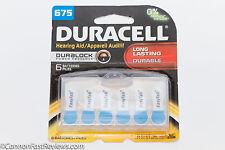 6 PACK DURACELL 675 BATTERIES Pentax K1000 LX ME MX Nikon FM FE F2 F3 Olympus OM