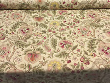 Waverly Imperial Dress Twill Gold Floral Fabric By The Yard