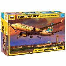Zvezda 7026 737-8 MAX / 737 MAX 8 (Boeing) /american civil airliner/ 1/144