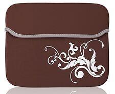 "For Argos Alba 10"" 10.1"" inch Tablet Universal Neoprene Case Cover Brown"