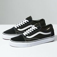 Vans Old Skool Skate Shoe - Black