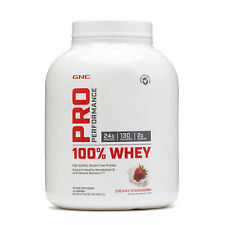 GNC Pro Performance® 100% Whey - Creamy Strawberry, 64 Servings