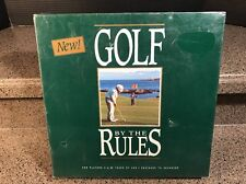NEW! GOLF BY THE RULES BOARD GAME - 1990 JD INCORPORATED