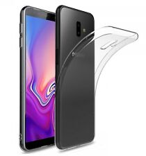for Samsung Galaxy J6 (plus) Case Clear Silicone Ultra Slim GEL Cover