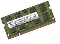 2GB RAM DDR2 Speicher RAM 800 Mhz Samsung N Series Netbook N310-KA0D PC2-6400S