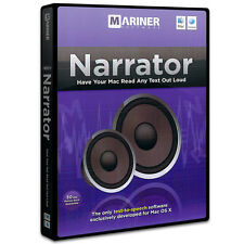 Narrator for Mac (by Mariner Software)