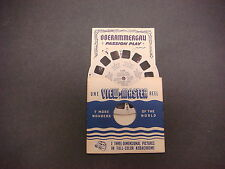 Sawyer's Viewmaster Reel,Travelogue,1950,Passion Play Oberammergau, Germany,1552