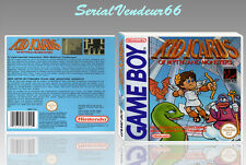 """BOITIER du jeu """"KID ICARUS"""", GAME BOY. Nintendo. PAL FR. HD. SANS LE JEU."""
