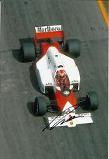 Niki Lauda Hand Signed Marlboro McLaren Photo 12x8 3.