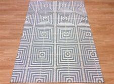 Plantation Modern Bamboo Silk Rug Be Square Hever Brand New Blue