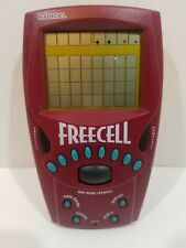 Radica Freecell Solitaire Electronic Handheld Game 1999 Works