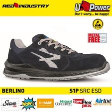 UPOWER SCARPE LAVORO ANTINFORTUNISTICA BERLINO ESD S1P SRC U-POWER