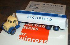 Richfield Gasoline Nostalgia Tanker '99 Winross Truck