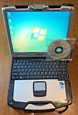 Panasonic Toughbook CF-30 Touchscreen 1.60GHz MK3 Win 7 Pro 4GB 320GB OEM CD