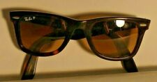 Cool  RAY BAN WAYFARER ITALY SUNGLASSES RB2140 902/M2 In excellent cond. 50 MM