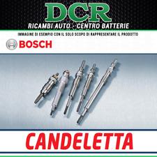 Kit 4 Candelette BOSCH 0250203002 FIAT GRANDE PUNTO (199_) 1.3 D Multijet 75CV