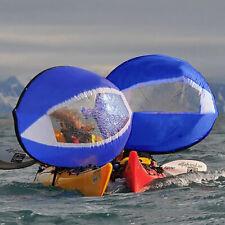 Voile pour Canoë kayak Bateau Pneumatique Sous le vent Sail - Bleu