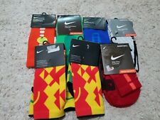 NIKE ELITE CREW/QUARTER SOCKS LOT (X7) (BASKETBALL / SOCCER) SIZE YOUTH SM (3-5)