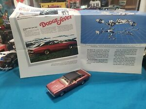 1968 Dodge Charger 1/43 Scale Diecast Model Car By Franklin Mint BEAUTIFUL CAR