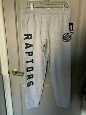 NBA UNK Gray Toronto Raptors Sweatpants Size XL NWT