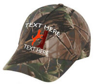Cap Hat Camo Oak Redbone Coonhound Coon Hound Custom Personalized Dog Hunter aa5df637ad07