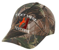 Cap Hat Embroidered Camo Oak Redbone Coon Hound Personalized Dog Hunter Tree