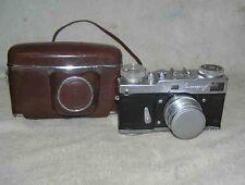 LENINGRAD SPRING MOTOR Vintage Old Rare Russian Soviet Camera USSR1963 Jupiter-8