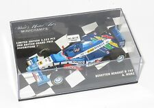 1/43 Benetton Renault B197  Alex Wurz  1997 Season  British GP Limited Edition