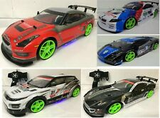 LARGE NISSAN LAMBO BMW RANGE 4WD DRIFT RC REMOTE CONTROL CAR 1/10 20MPH SPEED