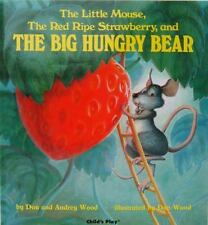 The Little Mouse, the Red Ripe Strawberry, and the Big Hungry Bear-ExLibrary