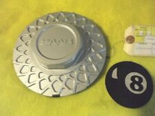SAAB MESH SILVER WHEEL CENTER CAP PART #105122329 and 90022 and 8969545 By RONAL