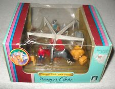 #9743 NIB Vintage Creata Winner's Choice Micro Horses Carousel Cool Down Playset