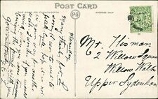 Mr Hisman. 2 Willow Square, Willow Walk, Upper Sydenham 1912   RL.37