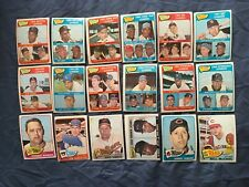 1965 TOPPS 1ST SERIES 1-99 PICK CARDS YOU WANT