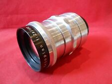 Objektiv Lens Trioplan 2,8/100 V mm Meyer Optik Görlitz Zustand gut für Praktina