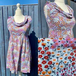 Joe Browns Ditsy Floral Tunic Dress Size 12