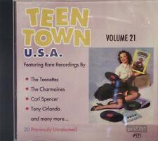 TEEN TOWN U.S.A. - Volume #21 - 25 VA Tracks