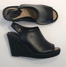 26fed65673cd Women s Size 7 Black Wedge Sandal Ruff Hewn Espadrille  Charlie  Wedge Peep  Toe