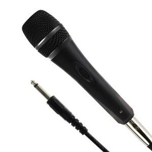 Microphone Dynamique + XLR Câble Câblé Métal Corps Unidirectionnel Portable Au