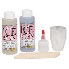 Epoxy Crystal Clear Ice Resin 8oz Kit, Jewellery Making, Jewelers Grade, Epoxy